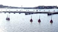 City harbor in Helsinki video