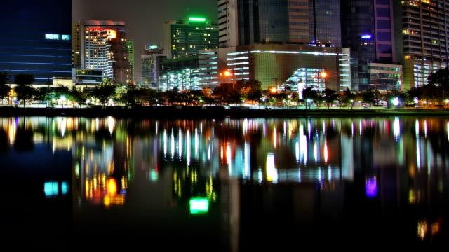 City lake video