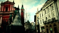 City Life at Ljubljana ,Slovenia video