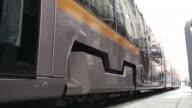 (HD1080i) City Life Reflected in Tram, Dublin Ireland video