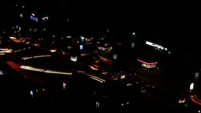 City Light Trails video