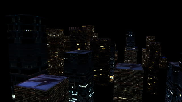 HD: City Lighting Up video