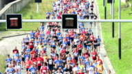 City marathon video