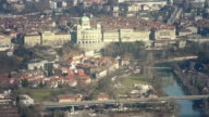 HD: City of Bern, Panoramic View from Gurten Mountain video