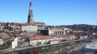 HD: City of Bern, Panoramic View video