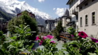 City of Chamonix In Summer, France video