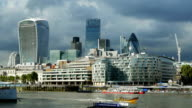 PAN City of London And HMS Belfast Museum Ship video