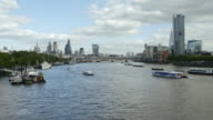 City Of London And Southwark From The West (UHD) video
