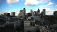 T/L City Of London Skyline video