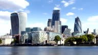City of London Skyline video