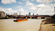 City of London timelapse Blackfriars Bridge video