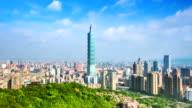 City of Taipei timelapse video