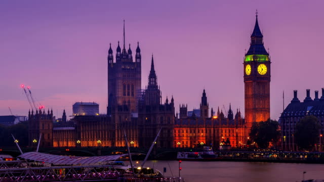 City of Westminster day to night, London video