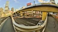 City Pedestrian Traffic Time Lapse Tokyo HDR video