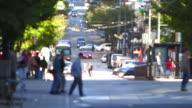 City Pedestrian Traffic video