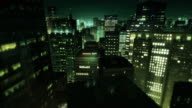 City scene by night (preview darker than video) video
