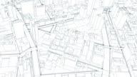 City sketch flight video