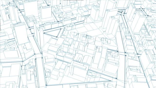 City Sketch to RGB Morning Flight video