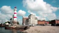 City Skyline Malmö - time lapse video
