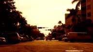 City Street Timelapse video
