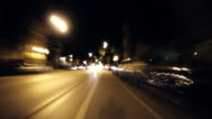 City Streets Time Lapse 1080p24 Loopable video