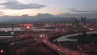 HD City time lapse video