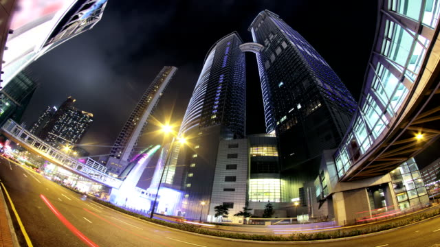 City Timelapse. Hong Kong. video