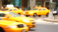 City Traffic Defoccused video