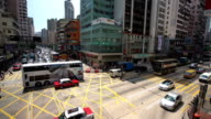 City Traffic in Hong Kong video