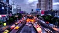 City Traffic in Twilight video