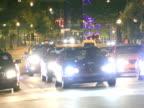 City Traffic Night video