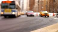 City Traffic Tilt Shift video