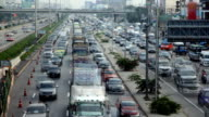 City traffic - Time Lapse video