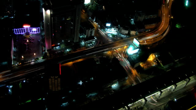 City traffic time lapse zoom 2 video