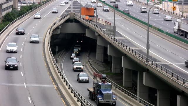 City traffic. video