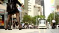 City tram video