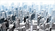 City view from the top video