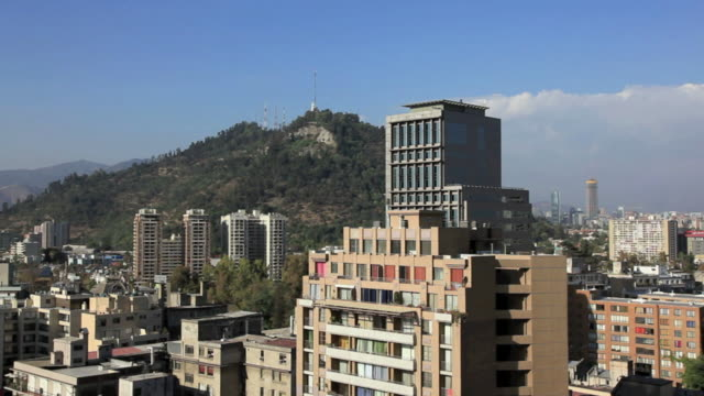 City View Of Santiago, Chile video