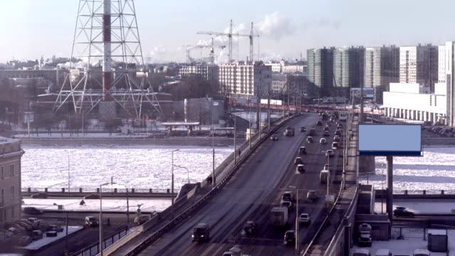 City winter video