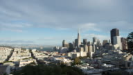 cityscape and skyline of san francisco. timelapse 4k video