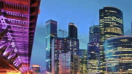 Cityscape Moscow video