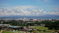 Cityscape of Davao Philippines Horizon - a video