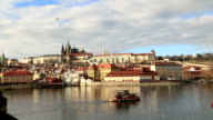 Cityscape of old Prague video
