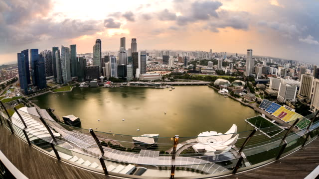 cityscape of singapore video