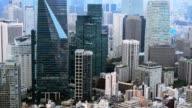 Cityscape of Tokyo City, Tokyo video