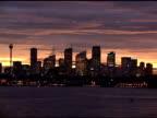 Cityscape Sunset video