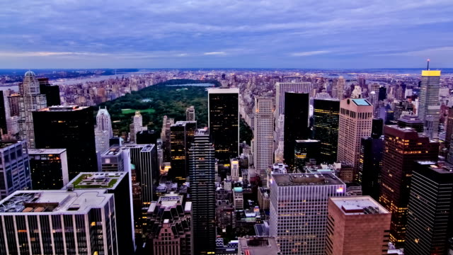 NYC Cityscape Time Lapse Central Park video