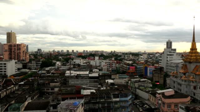 PAN/Cityscape view of Bangkok modern video