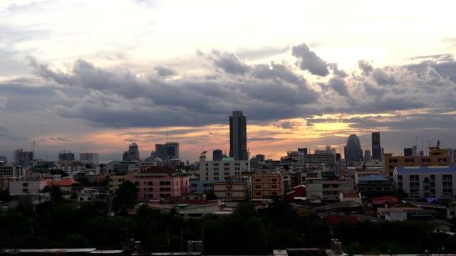 ZO/Cityscape view of Bangkok modern video