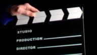 Clapboard video